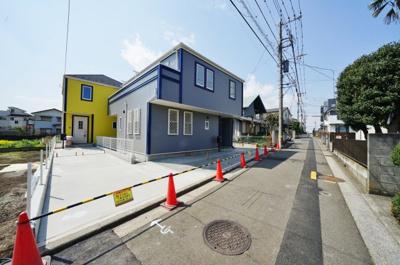 【前面道路含む現地写真】保土ヶ谷区常盤台 全3棟新築戸建て