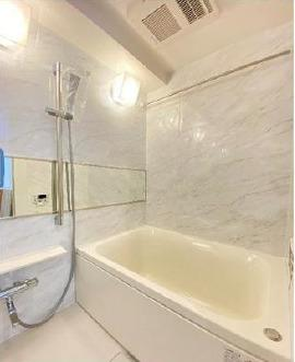 【浴室】日興パレス日本橋 8階 リ ノベーション済 角 部屋