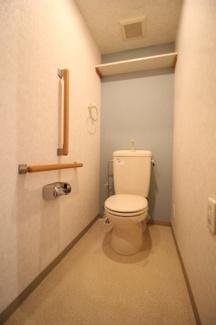 【トイレ】ウエストコート8番街2番館