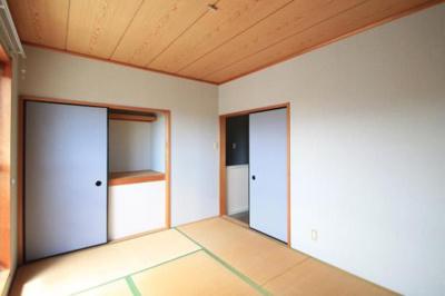 和室はお洒落なカラーになってます