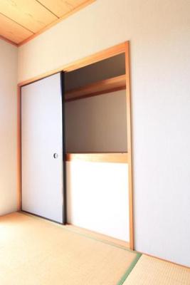 和室収納です