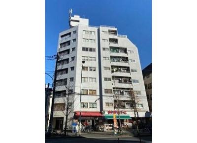 JR常磐線「亀有」駅から徒歩約4分の立地のマンションです。