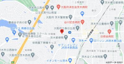 【地図】ラシーネローザ (株)Roots