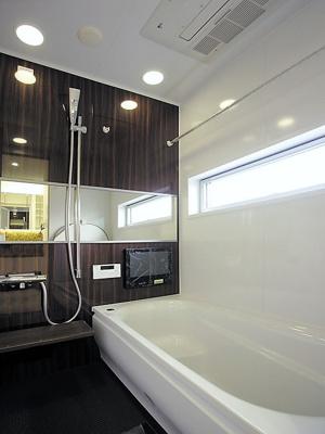 同仕様施工例:浴室(浴室TV・浴室オーディオ・ミストサウナ・浴室暖房乾燥機付き)