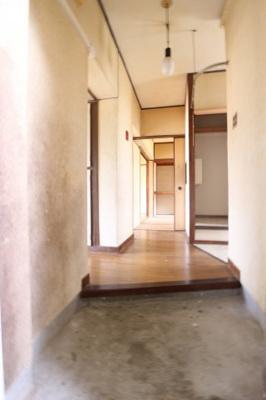 【玄関】明舞第二団地7号棟