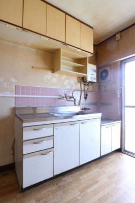 【キッチン】明舞第二団地7号棟