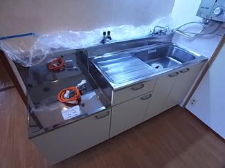 【キッチン】エクセルハイツA棟