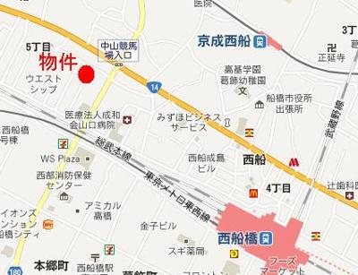 【地図】ベルフォンテーヌ