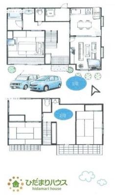 広々6DKの間取りは、家族が増えても住み続けられるお家です♪