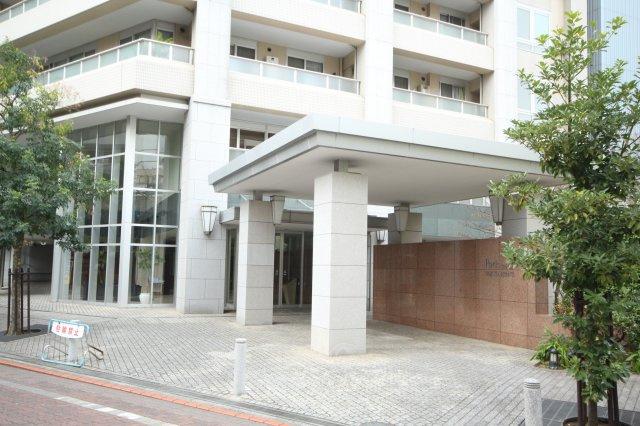 【エントランス】パークタワー東京フロント