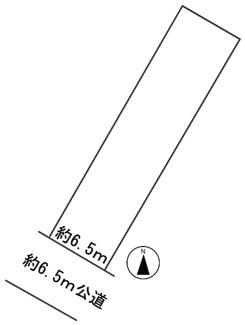 【区画図】55730 養老郡養老町高田土地
