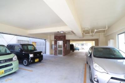 【駐車場】メゾンドソレイユ