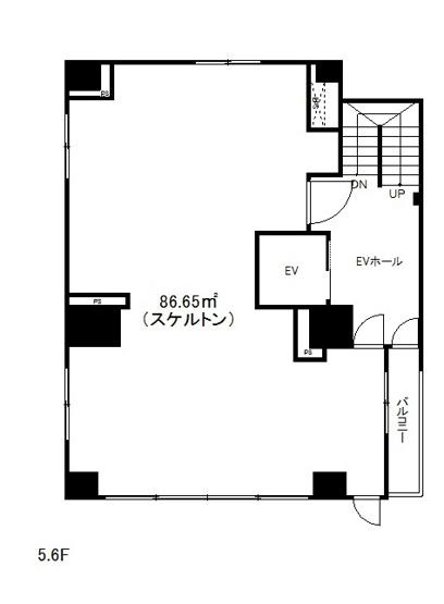 事務所・物販・サービス業向けの86.65m2の広々ワンフロア♪オシャレでこだわりのある空間にしたい方にオススメなスタジオタイプで、レイアウト自由自在です!