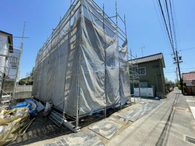 【外観】港区船頭場20-1期 1号棟〈仲介手数料無料〉