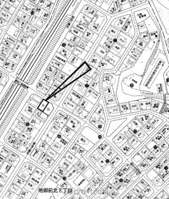 【区画図】廿日市市地御前北2丁目