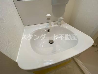 【洗面所】ビガーポリス405同心Ⅲ