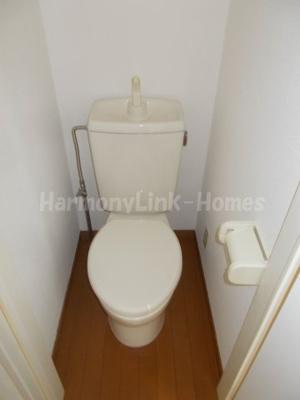 シエスタルミエールのトイレもきれいです