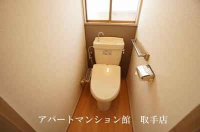 【トイレ】羽根野∞貸家