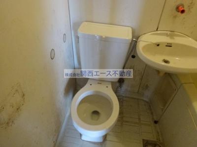 【トイレ】富尾ハイツ