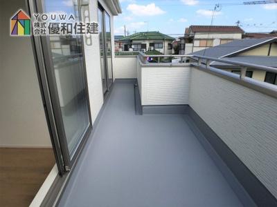 【バルコニー】神戸市西区白水 新築戸建
