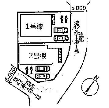 【区画図】神戸市西区白水 新築戸建
