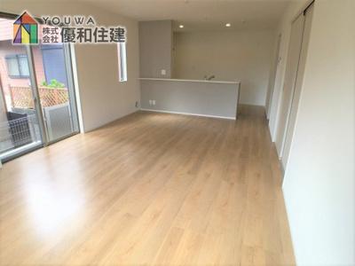 【居間・リビング】神戸市西区白水 新築戸建