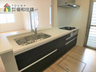 【キッチン】神戸市西区白水 新築戸建