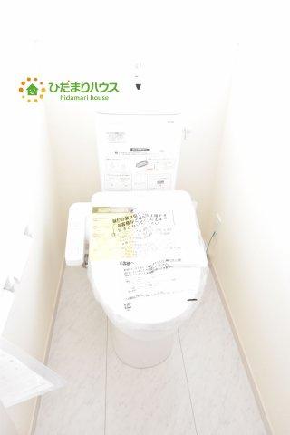 【トイレ】見沼区春岡 新築一戸建て リーブルガーデン 01