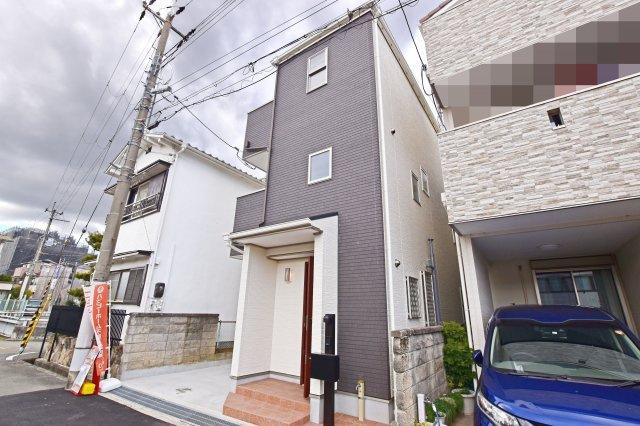 【前面道路含む現地写真】尼崎市富松町 新築戸建