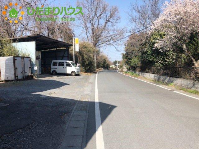 【前面道路含む現地写真】水戸市元石川町 売地 99坪