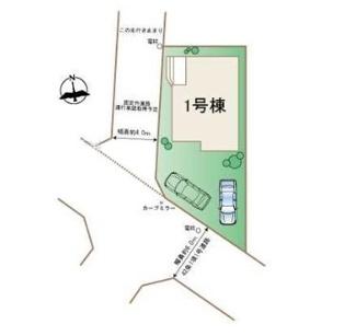 【区画図】調布市多摩川町6丁目 仲介手数料無料