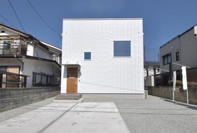 【外観】甲斐市名取建売住宅「ZERO-CUBE+SKYBALCONY」