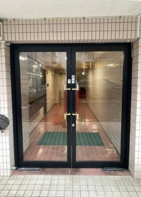 【エントランス】北千束アイレ