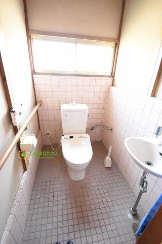 トイレは洋式にリフォームしました!