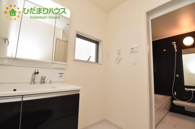 【洗面所】見沼区風渡野 第2 新築一戸建て リーブルガーデン 01