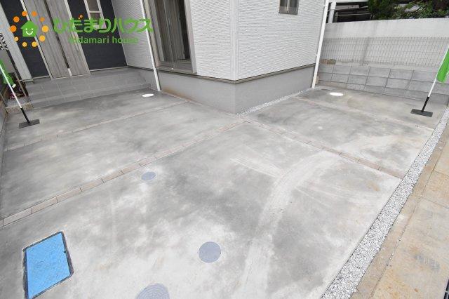 【駐車場】見沼区風渡野 第2 新築一戸建て リーブルガーデン 01