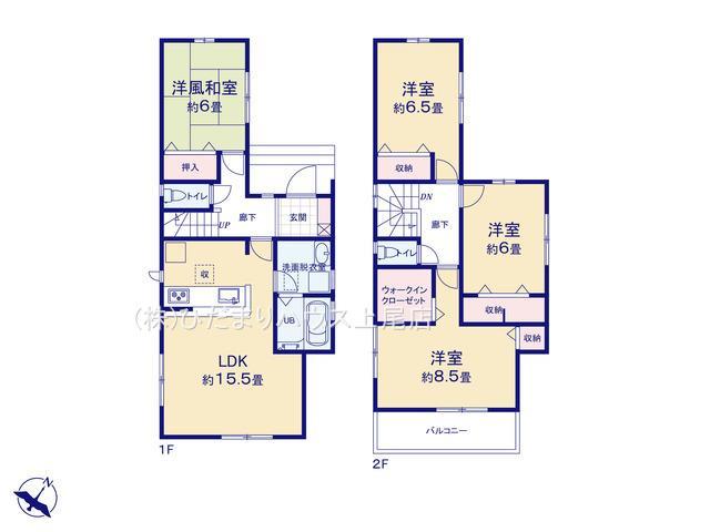 見沼区風渡野 第2 新築一戸建て リーブルガーデン 01