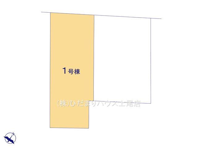 【区画図】見沼区風渡野 第2 新築一戸建て リーブルガーデン 01