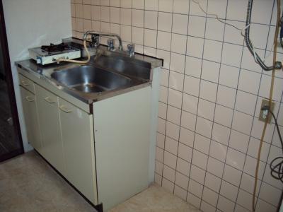 【キッチン】シティハウスSAKA PARTⅡ(シティハウスサカパート2)