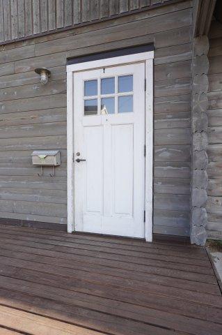 かわいい玄関ドアです。