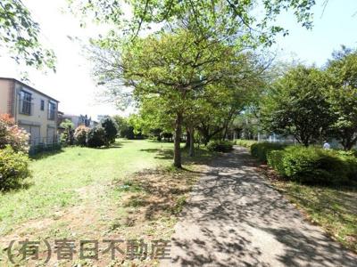 西千葉公園(緑の豊かな遊歩道になっています)