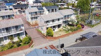 緑豊かな住宅。土地面積52坪。
