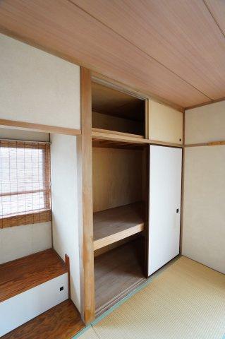 2階和室6帖 本日、建物内覧できます。住ムパルまでお電話下さい!