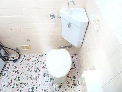 【トイレ】ヴィラ長月