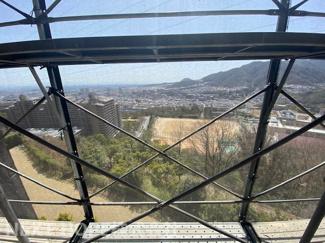 バルコニーからの眺望です♪素敵な眺望が望めます!!※令和3年3月19日現在:大規模修繕工事中です。
