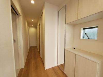 大型シューズボックスつき♪ 新築戸建の事はマックバリュで住まい相談へお任せください。