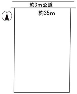 【区画図】56491 岐阜市柳津町下佐波西農地