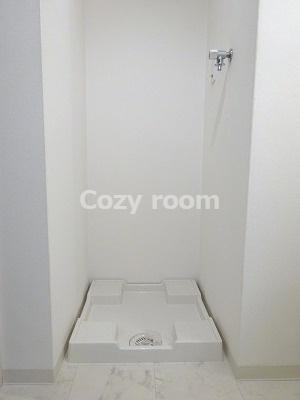 室内洗濯機置き場あります。