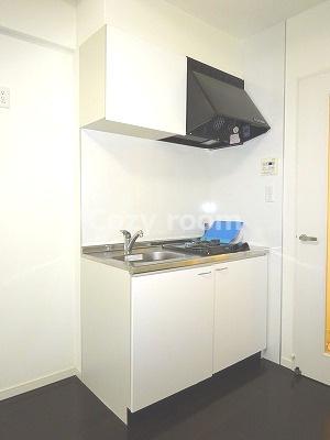 お料理しやすいガス2口コンロ付システムキッチンです