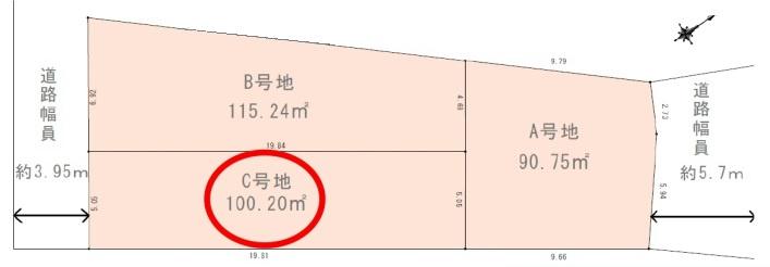 上鳴尾町 C号地 売土地の画像